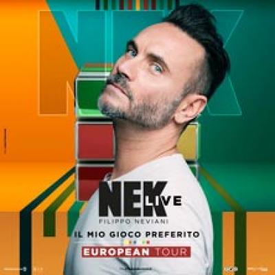 Nek - Piacenza - 15 novembre