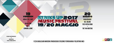Strike Up Music Festival - maggio 2017