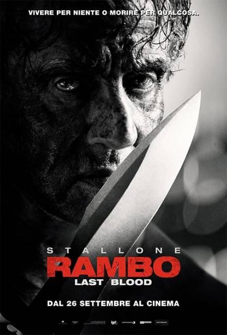 locandina Rambo: last blood - Genova