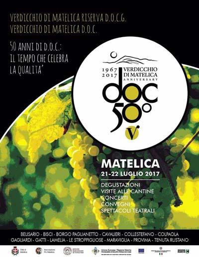 Verdicchio Matelica Festival, 50 anni di D.O.C. © Città di Matelica, Matelica Festival.