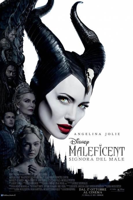 locandina Maleficent - Signora del male - Roma