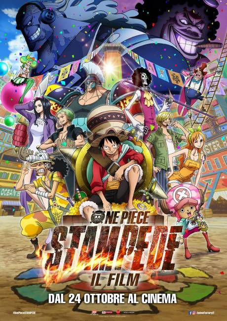 One Piece: Stampede( il film) - Sinalunga