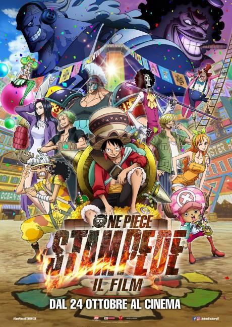 locandina One Piece: Stampede( il film) - Fiumicino
