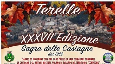Sagra delle castagne - Terelle - 10 novembre - EventinAgenda