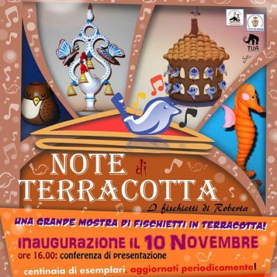 Note di terracotta, Pofi 2019-2020 - locandina